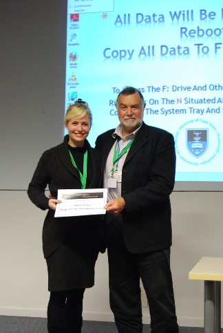 Heron Young Scientist Award: Ursula Rohlwink