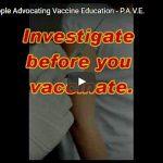 People Advocating Vaccine Education P.A.V.E.