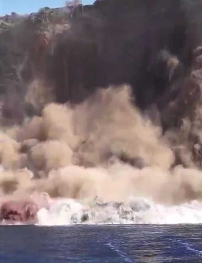 """Falesia crollata, il geologo Amodio: """"Instabilità geologica di Ventotene da trattare come malattia cronica"""""""
