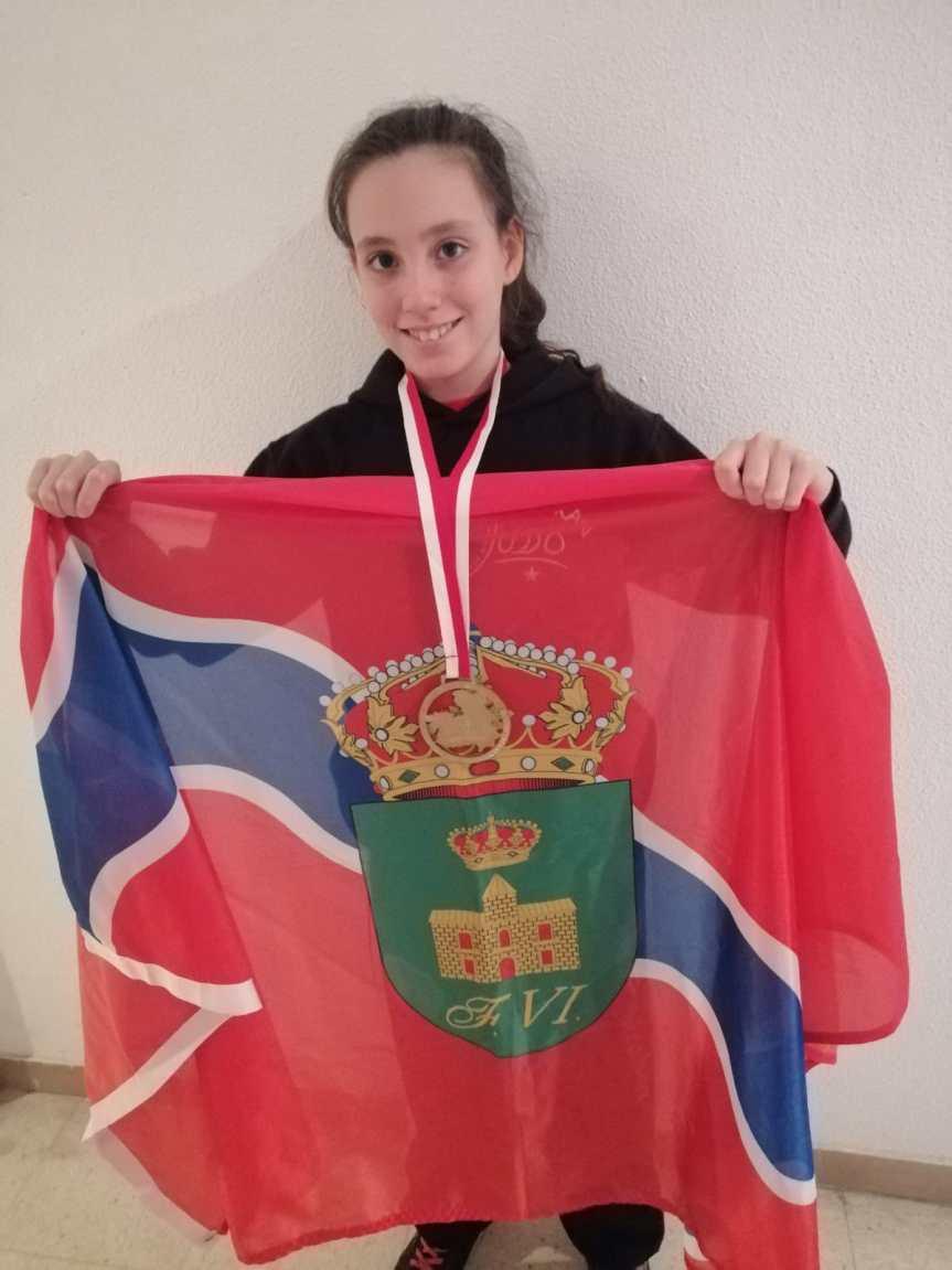 Noelia Casas, se trae el campeonato de Judo escolar de Castilla-La Mancha