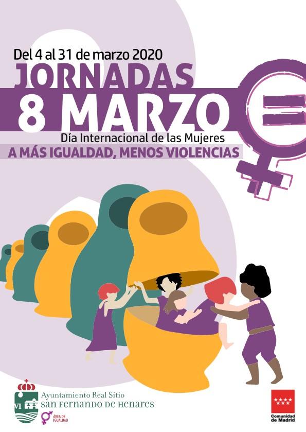 'A más Igualdad, Menos violencias', lema del 8 de Marzo