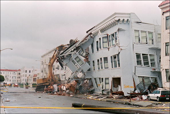 Image result for san francisco october 17 1989 earthquake
