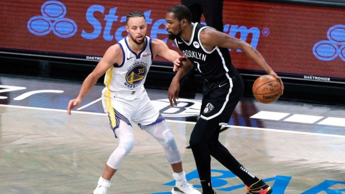 Durant Leads New-Look Nets In Opening Night Blowout Of Warriors, 125-99 –  CBS San Francisco