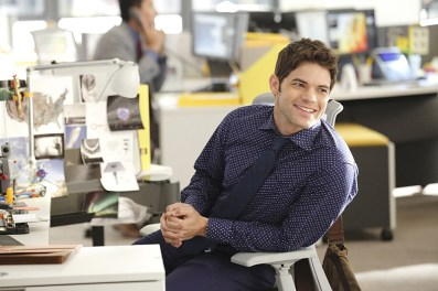 """Fight or Flight"" -- Cat plans to run an exposé on Supergirl, on SUPERGIRL, Monday, Nov. 9 (8:00-9:00 PM, ET/PT) on the CBS Television Network. Pictured: Jeremy Jordan Photo: Trae Patton/CBS ©2015 CBS Broadcasting, Inc. All Rights Reserved"