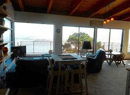 Penthouse Kitchen, Dining, Living...Big Spectacular Views.