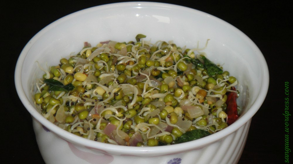 Moong Sprouts Sundal (3/3)