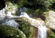 22 三重の滝を見る。