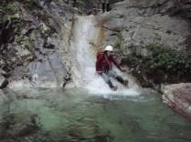 32‐スライダー滝は最高のスベリ台