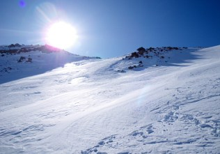 10我々だけで美しい山頂を独占。