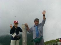 05 以東岳山頂にて