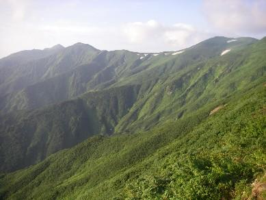 12 朝日岳連峰