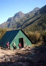 ⑨2800M地点の避難小屋