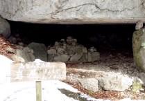 ②円空様が修行していた岩屋