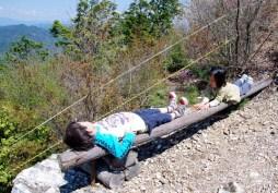 あまりの天気の良さに眠たくなった。