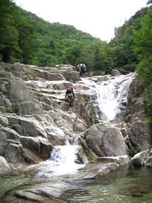 小滝の連続