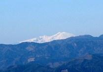 御嶽山が見えた。