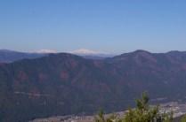 展望台より白山