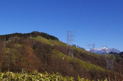 九合目から山頂と御嶽山