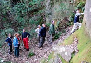 30 近くにある八剣の岩場、使われてなく荒れています。