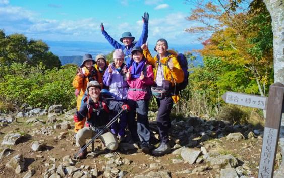 2010年11月3日 霊仙岳 自主山行