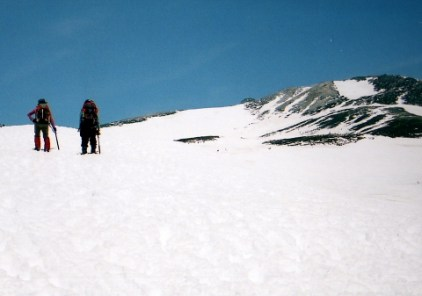 乗鞍岳・山スキー(奥飛騨)