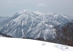 雄大な能郷白山を間近に。