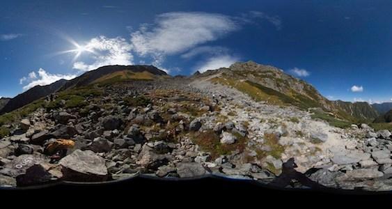 2009年 9月 自主山行 槍ヶ岳