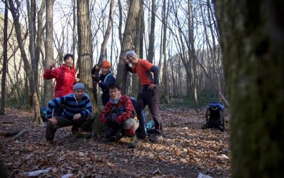 2010年12月4・5日 自主山行 鈴鹿 神河内キャンプ