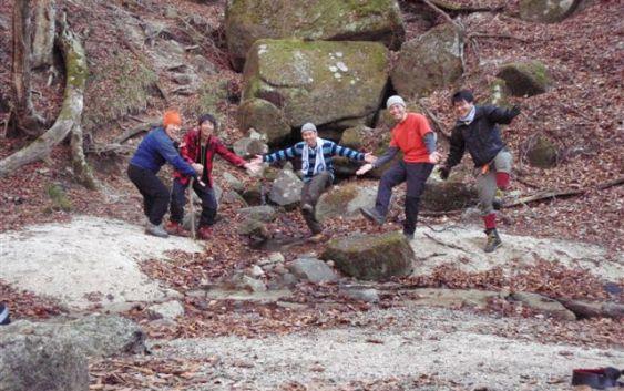 2010年12月4・5日 自主山行 鈴鹿 神河内キャンプ PART2