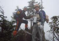 2010年11月28日 忘年山行 唐塩山(1608.6M)