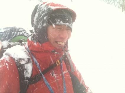 52 吹雪でも笑顔w