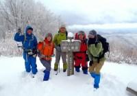 2011年 1/16(日)定例山行 寧比曾岳