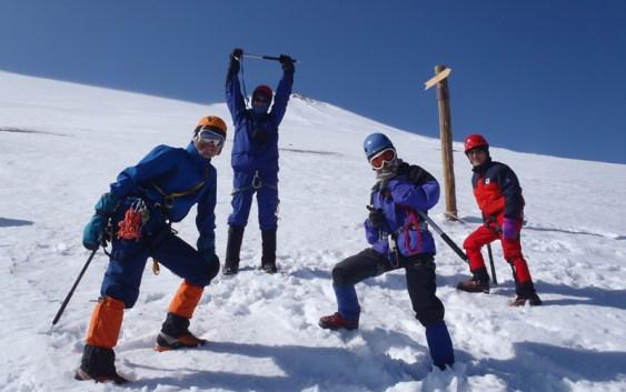 2011年 2月26日17日 自主山行 富士山