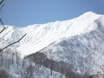 05そびえる野伏ヶ岳
