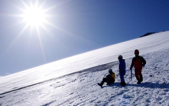 2011年2月26日27日 冬山訓練 富士山 写真2