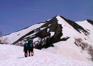 2002年 春合宿 鹿島槍ヶ岳