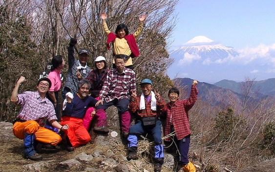 2001年3月18(日) 3月定例山行 真富士山(1401m)(静岡県清水市)