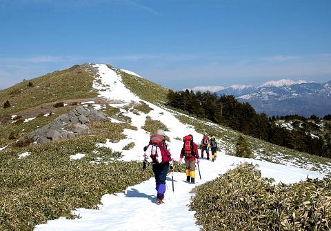 2008年1月19日 定例山行A  富士見台(東濃)