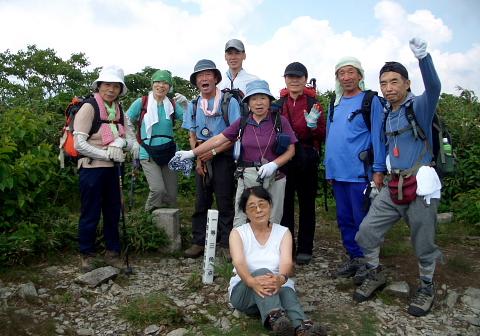2008年7月13日 定例山行A  能郷白山(奥美濃)