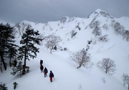 11 右からK1,K2,霞沢岳