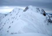 17 K2と霞沢岳山頂