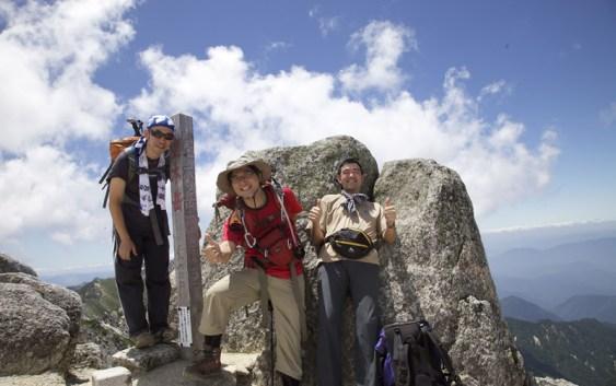 2011年7月17日 空木岳 日帰り 自主山行