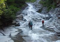 2011年8月6日 自主山行 白毛門沢 上越、谷川連峰の沢
