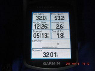2日目は20KM歩きました