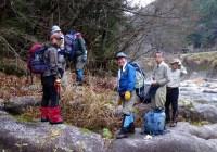 2009年12月6日 愛知県連40周年記念行事  愛知県境踏破5回目(R153日向~807mピーク~上柏洞)