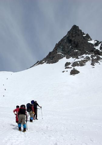 槍ヶ岳(3180m) (6)