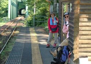 樽見鉄道の日当駅は無人駅。