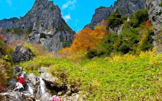 2011年10月16日 自主山行 錫杖岳
