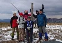 2012年12月9日 定例山行 竜ヶ岳(遠足尾根)