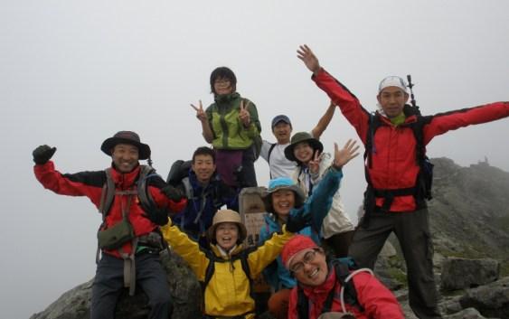 2013年7月13日14日15日 塩見岳